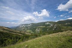 Rango de montaña en montaje del smokey Foto de archivo