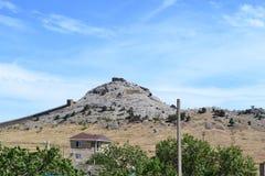 Rango de montaña en montaje del smokey Imágenes de archivo libres de regalías