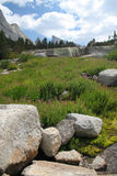 Rango de montaña en Wyoming Imagenes de archivo