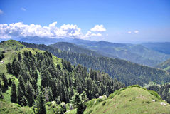 Rango de montaña Himalayan Imágenes de archivo libres de regalías
