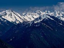 Rango de montaña olímpico imagen de archivo