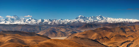 Rango Himalayan Fotos de archivo