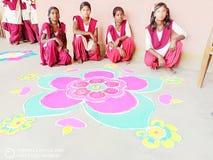 Rangoli image libre de droits