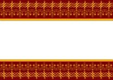 rangoli граници Стоковая Фотография