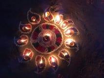 Rangoli Fotografía de archivo libre de regalías