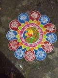 Rangoli photos stock