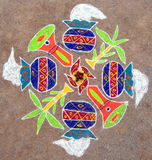 Rangoli Royalty Free Stock Images