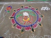 Rangoli 2 Zdjęcie Royalty Free
