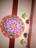 Rangoli Imagens de Stock Royalty Free