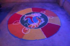 Rangoli Royaltyfria Foton