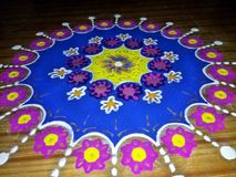 Rangoli Art Stock Photography