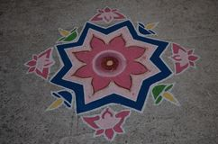 Rangoli Royalty Free Stock Photography