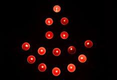 Rangoli della lampada di Diwali Fotografie Stock Libere da Diritti