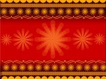 Rangoli design Stock Image