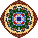 Rangoli Design. Festival Vector Art royalty free illustration