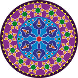 Rangoli Design Royalty Free Stock Photo