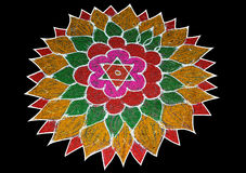 Rangoli Stock Photography
