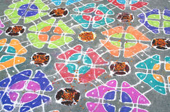 Rangoli Royalty Free Stock Photo