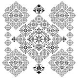 Rangoli line art Royalty Free Stock Photos