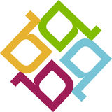 Rangoli. Logo concept has been created as vector royalty free illustration