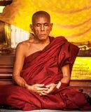 Rangoon - 30 novembre: Pagoda di Shwedagon Fotografia Stock Libera da Diritti