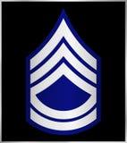 Rangs militaires et insignes Rayures et chevrons d'armée Image libre de droits