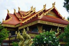 Rangsit temple. Luk hok Phathumtani Thailand Stock Photography