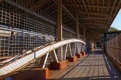 Rangun-Bahnstation Lizenzfreie Stockbilder