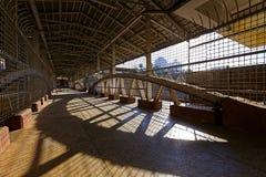 Rangun-Bahnstation Lizenzfreies Stockfoto