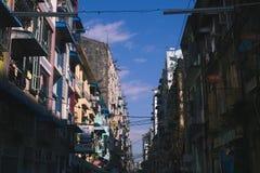 Rangun-Straße Stockbild
