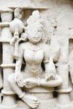 'Rani-ki-Vav', ein stepwell des 11. Jahrhunderts in Gujarat, ist als Welterbestätte genehmigt worden Stockfotos