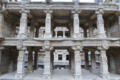 'Rani-ki-Vav', ein stepwell des 11. Jahrhunderts in Gujarat, ist als Welterbestätte genehmigt worden Lizenzfreie Stockfotos