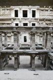 'Rani-ki-Vav', ein stepwell des 11. Jahrhunderts in Gujarat, ist als Welterbestätte genehmigt worden Lizenzfreies Stockfoto