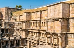 Rani ki vav, an intricately constructed stepwell in Patan - Gujarat, India
