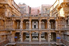 Rani ki vav, an stepwell on the banks of Saraswati River in Patan. A UNESCO world heritage site in India
