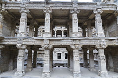 'Rani-ki-Vav', un stepwell del siglo XI en Gujarat, se ha aprobado como sitio del patrimonio mundial fotos de archivo libres de regalías