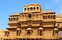 Rani Mahal,  Jaisalmer, Rajasthan, India. Sand dune area is situated in outskirts of Jaisalmer, Rajasthan, India... It is famous for desert and sand... Sunsets Stock Image