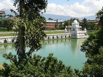 Rani Pokhari in Kathmandu. An historic artificial pond located in the heart of Kathmandu Royalty Free Stock Image
