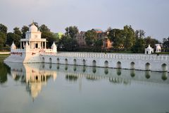 Rani Pokhari Pond landmark in Kathmandu, Nepal Royalty Free Stock Photography