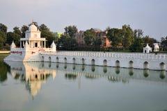 Rani Pokhari Pond landmark in Kathmandu, Nepal Royalty Free Stock Photography
