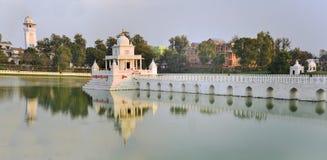 Rani Pokhari Pond landmark in Kathmandu, Nepal Stock Photo