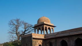 Rani Roopmati Mandap Pavilion-India Royalty-vrije Stock Afbeelding