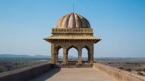 Rani Roopmati Mandap Pavilion Terrace-India Stock Foto