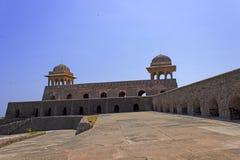 Rani Roopmati Palace. Ancient Historic Indian Architecture Historic Place, Mandu near indore, rani roopmati palace back side of the building Royalty Free Stock Photo