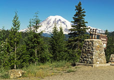 Ranier Viewpoint Stock Images