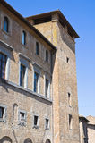 Ranieri palace. Orvieto. Umbria. Italy. Stock Photography