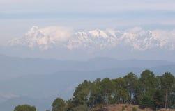 Ranikhet - äng för drottning` s, Almora område i det indiska tillståndet av Uttarakhand Royaltyfria Bilder