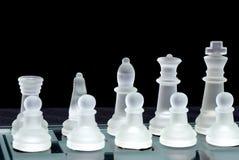 Rank da placa de xadrez Imagem de Stock Royalty Free