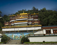 Ranka Monastery in Sikkim Stock Photos