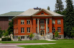 Rankin Hall in Montana since 1909 Stock Photos